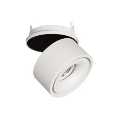 Oprawa sufitowa OSLO MINI LED 8W okrągła ruchoma aluminium biała