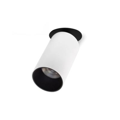 Oprawa sufitowa ALTA LED 11W okrągła ruchoma aluminium biała