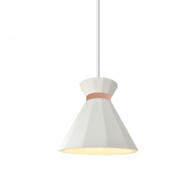 Lampa sufitowa gipsowa SOLE E27 biała