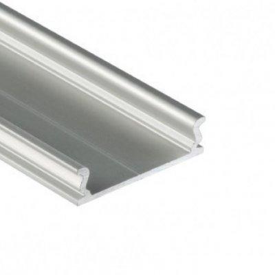 Profil LED montażowy MODI AN srebrny anodowany 2m