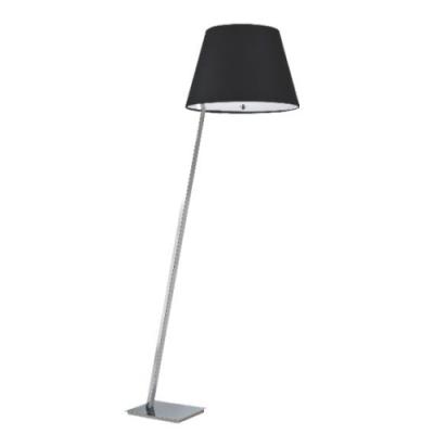 Lampa stojąca Orlando E27 satyna/czarny