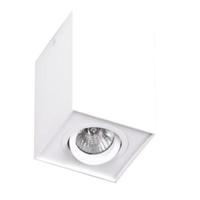 Plafon kwadratowy Basic GU10 biały