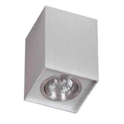 Plafon kwadratowy Basic GU10 aluminium