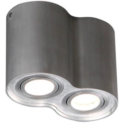 Plafon Basic Round 2 x GU10 aluminium