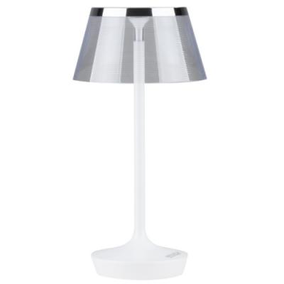 Lampka stołowa Soul 7W biała + chrom