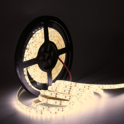 TAŚMA 600 LED / wodoodporna / ROLKA 5 m / BIAŁY NEUTRALNY