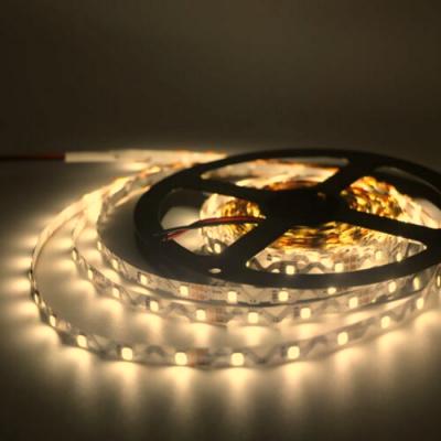 MOCNA TAŚMA 300 LED 2835 S-Shape Wyginana Biały Ciepły 5m