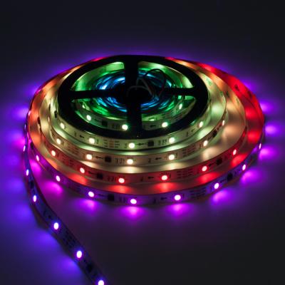 TAŚMA CYFROWA MAGIC STRIP Epistar LED RGB 5m 150LED IP20 biały laminat