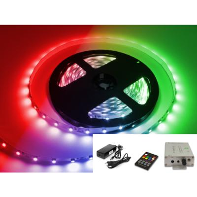 STEROWNIK MUZYCZNY Sound-X +ZASILACZ +TAŚMA LED 10m RGB