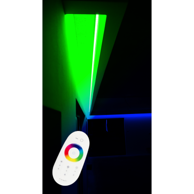 SUFIT LED RGBW +ZIMNOBIAŁY Z PILOTEM DOTYKOWYM / 5metrów