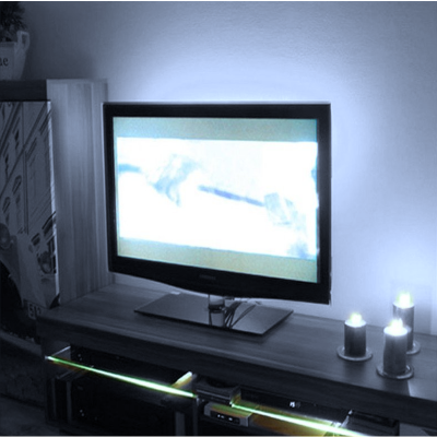 PODŚWIETLENIE LED TELEWIZORA + PILOT RADIOWY / BIAŁY ZIMNY