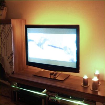 PODŚWIETLENIE LED TELEWIZORA OŚWIETLENIE TV / BIAŁY CIEPŁY