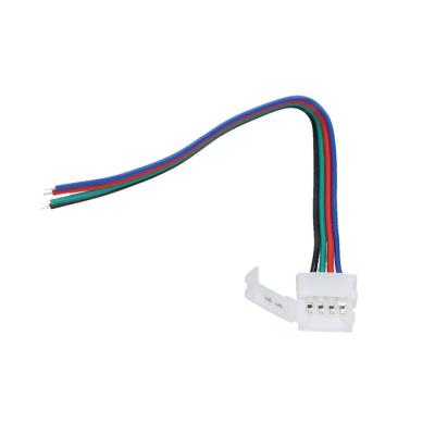 ZŁĄCZKA DO TAŚM LED RGB Z KABLEM RGB - pojedyncza