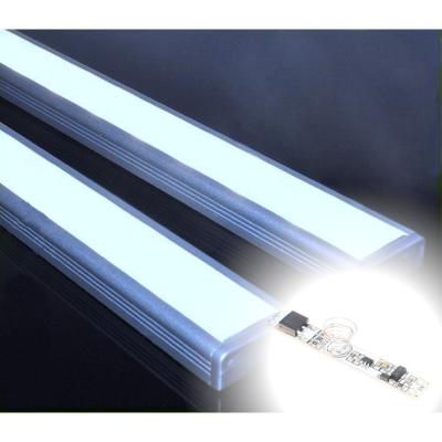 LISTWA LED PODSZAFKOWA Semi 100cm / diody 3528 / biała zimna + ŚCIEMNIACZ