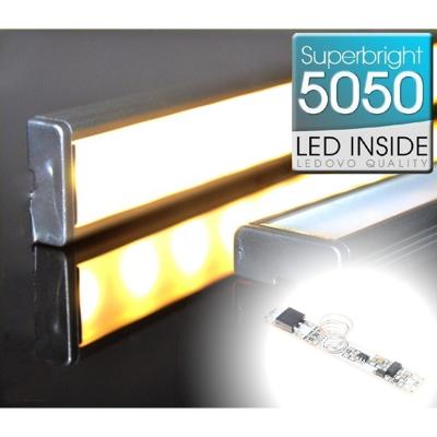 LISTWA LED Semi 5050 / 440 LUMENÓW / biała ciepła / 50cm + ŚCIEMNIACZ