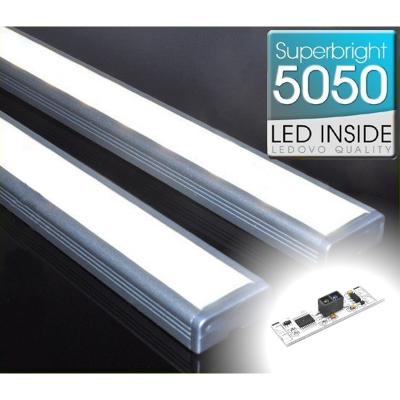 LISTWA LED Semi 5050 / 880 LUMENÓW / biała neutralna / 100cm + WYŁĄCZNIK