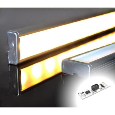 LISTWA LED PODSZAFKOWA Semi 100cm / diody 3528 / biała ciepła + WYŁĄCZNIK