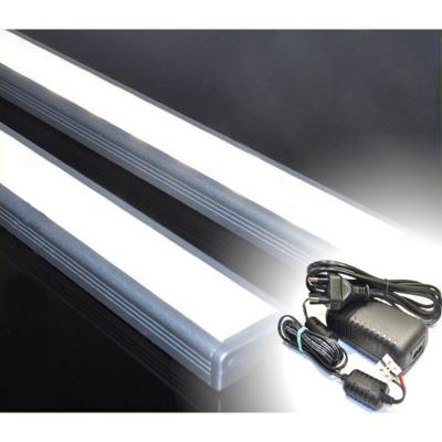LISTWA LED PODSZAFKOWA Semi 50cm / diody 3528 / biała neutralna + ZASILACZ