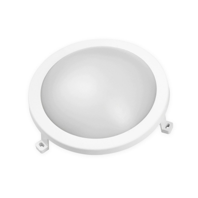 PLAFON LEDOM okrągły BULKHEAD 12W Biały Neutralny IP65 840lm 4000K