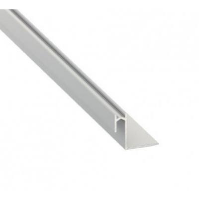 Profil LED architektoniczny montażowy ROSET srebrny anodowany 2m