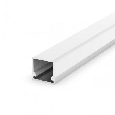 Profil LED Nawierzchniowy P4-3 anodowany z kloszem transparentnym 2m