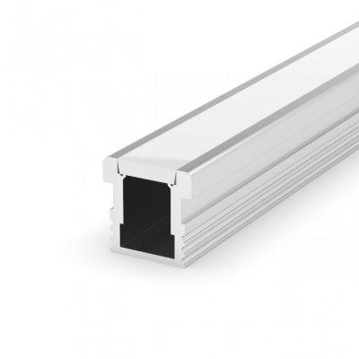 Hermetyczny Profil LED P24-1 z kloszem mlecznym 2m