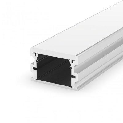 Hermetyczny Profil LED P24-2 z kloszem mlecznym 2m