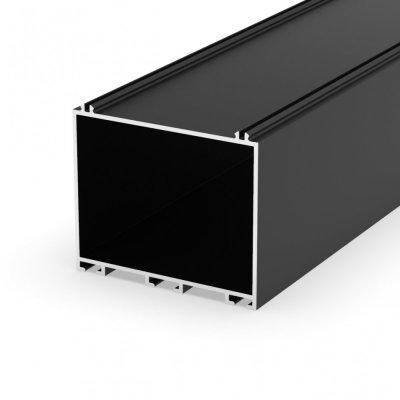 Profil LED architektoniczny pomocniczy P23-4 czarny lakierowany 2m