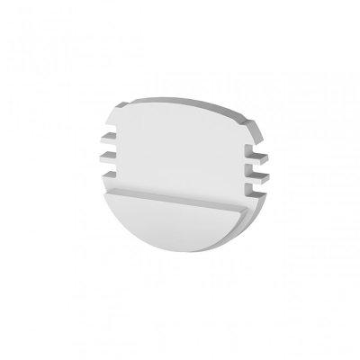 Zaślepki boczne do profili P8-1 srebrne (2 sztuki)