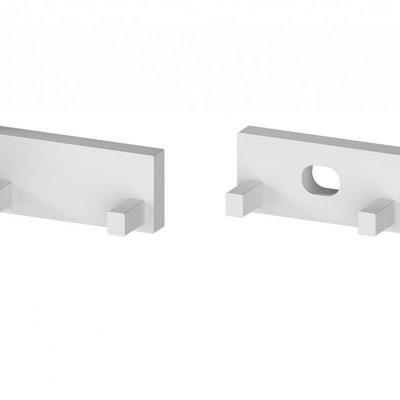 Zaślepki boczne do profili P11-1 C5 srebrne (2 sztuki)