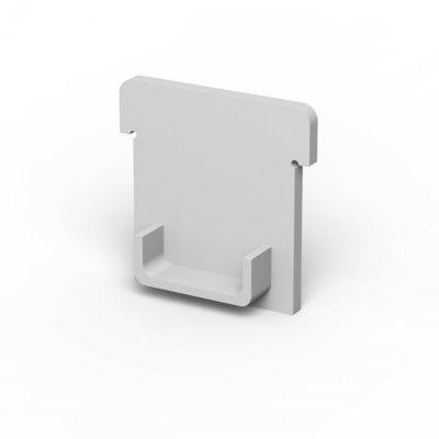 Zaślepki boczne do profili P24-1 C5 białe (2 sztuki)