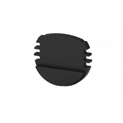 Zaślepki boczne do profili P8-1 czarne (2 sztuki)