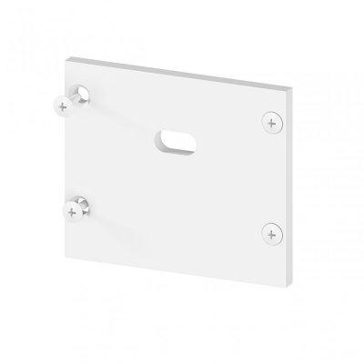 Zaślepka boczna z otworem do profili architektonicznych P22-2/P22-3 C7 aluminiowa biała
