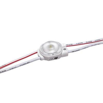 Moduł 1xLED o wysokiej sprawności biały neutralny 170° IP67 0,36W
