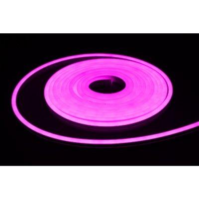 Neon LED różowy 9W/m 320lm IP65 rolka 5mb