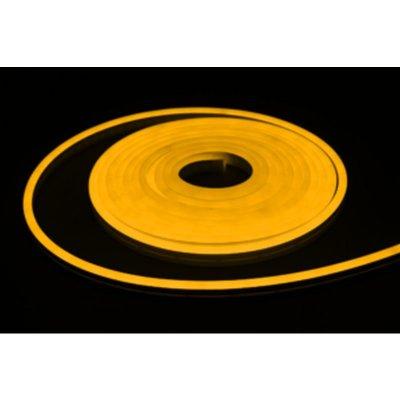 Neon LED żółty złoty 9W/m 320lm IP65 rolka 5mb