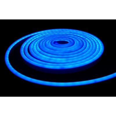 Neon LED niebieski 12W/m 350lm IP65 rolka 5mb