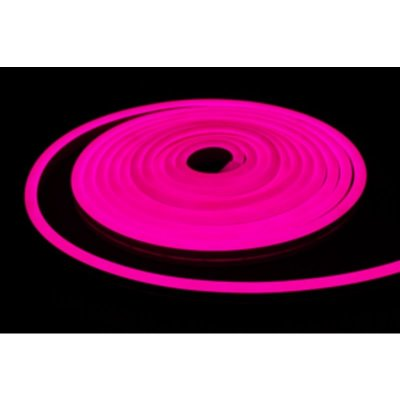 Neon LED różowy 12W/m 350lm IP65 rolka 5mb