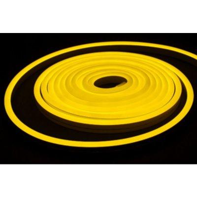 Neon LED żółty cytrynowy 12W/m 350lm IP65 rolka 5mb
