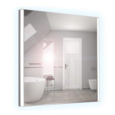 Lustro łazienkowe z oświetleniem LED i wyłącznikiem zbliżeniowym 100x65cm