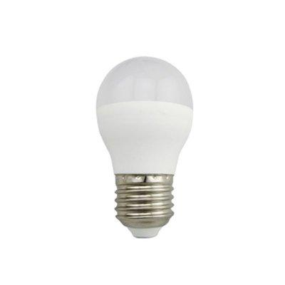 Żarówka LED Polux Economy E27 duży gwint G45 3W 230lm biała ciepła mleczna