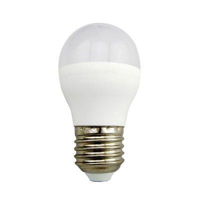 Żarówka LED Polux E27 duży gwint G45 4,5W 400lm biała ciepła mleczna
