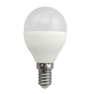 Żarówka LED Polux E14 mały gwint G45 5,5W 480lm biała ciepła mleczna