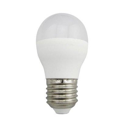 Żarówka LED Polux E27 duży gwint G45 5,5W 480lm biała ciepła mleczna