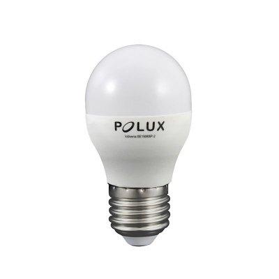Żarówka LED Polux E27 duży gwint G45 6,3W 560lm biała neutralna mleczna