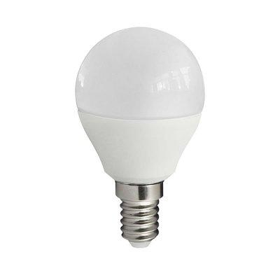Żarówka LED Polux E14 mały gwint G45 7W 640lm biała ciepła mleczna