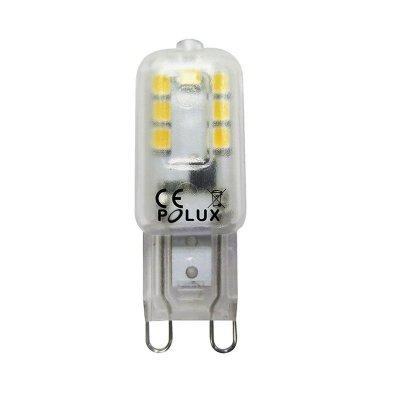 Żarówka LED Polux G9 2,5W 180lm biała zimna