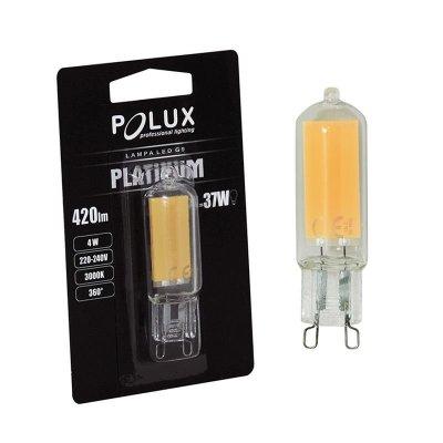Żarówka LED Polux G9 2W 220lm biała ciepła COB