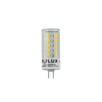 Żarówka LED Polux G4 3W 260lm 12V biała ciepła
