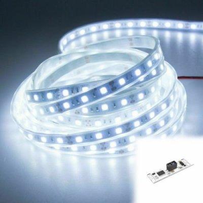 WODOSZCZELNA TAŚMA LED Epistar 300 LED / 5mb / IP68 / ZIMNA z czujnikiem ruchu